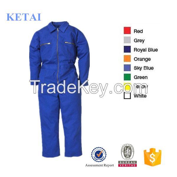 Long Sleeve Coal Mine Blue Wear Rough Workwear