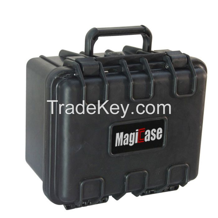 China Factory Hot Sale High Impact PP Hard Plastic Waterproof Pelican Style Storm Case with Cubed Foam