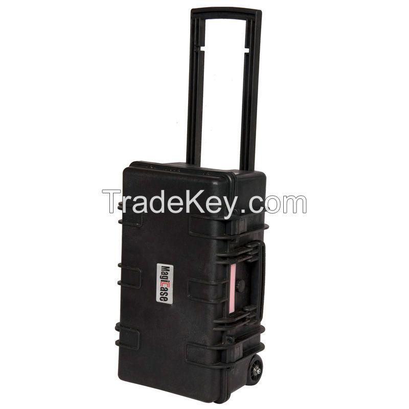 ABS Plastic Waterproof Pelican Style Custom Protector Instrument Case with Wheels