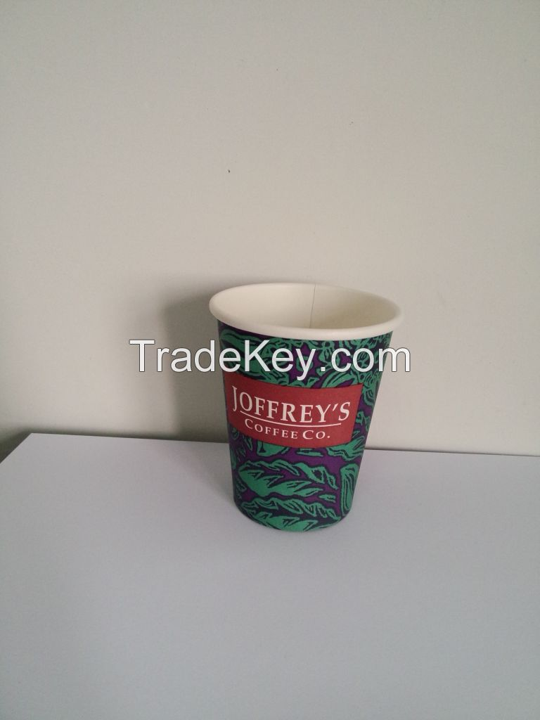 disposable single wall paper cup