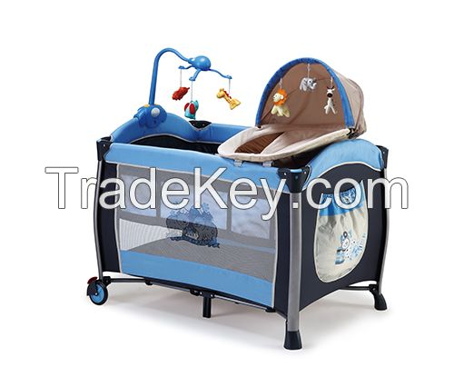 chinese manufacturer of large crib for baby folding playpen with mosquito net,modern baby crib for baby