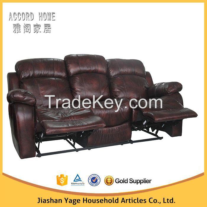 Modern design home theater living room motion recliner sofa