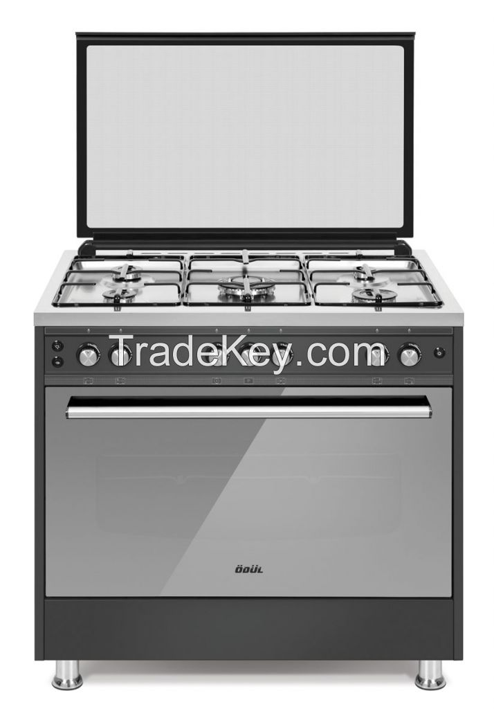 60x60 free standing oven , gas cooker, 90*60 Stainless steel oven, semi professional oven , electric oven,50*60 gas oven built in