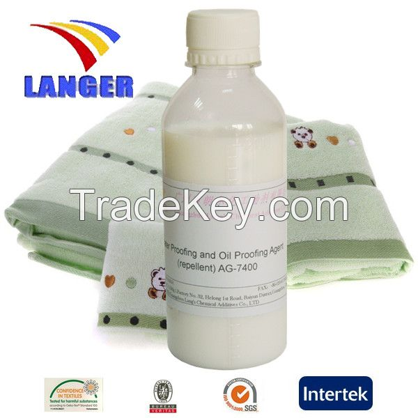 Water Proofing and Oil Proofing Agent (repellent) AG-7400