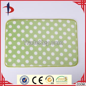 Adorable Dot Printed Custom Printed Memory Foam Mats