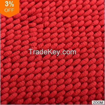 Skin-friendly 100% Polyester Microfiber Chenille Baby Floor Mat