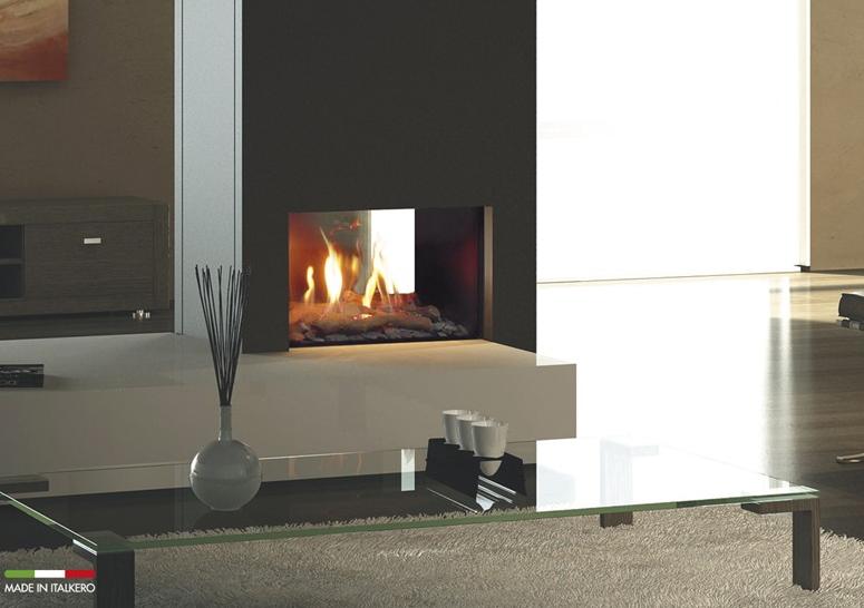 Firenze Gas fireplaces built-in insert.