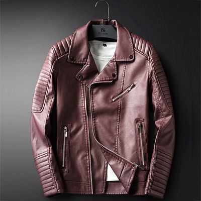 Leather Jacket Men Coats M-3XL High Quality Outerwear Men Business Autumn Male Jacket 1713