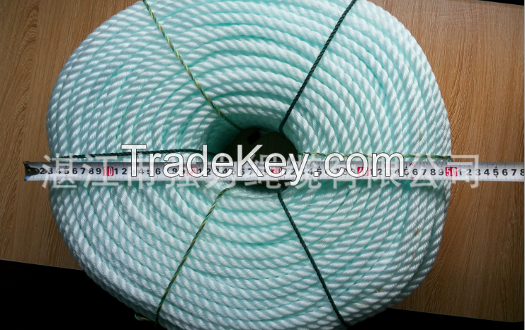 White PP String/PP twist Rope/3-stand PP Rope