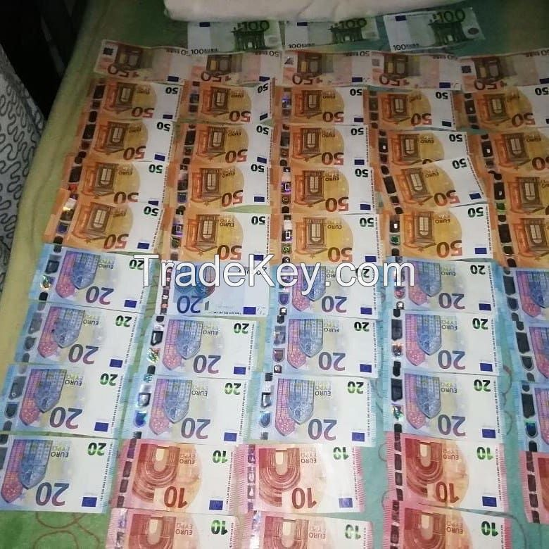 Ready to use counterfeit bank notes