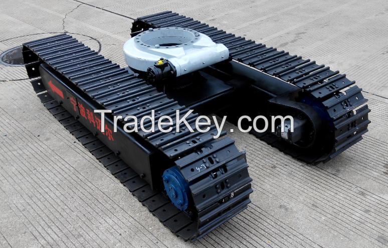 Track crawler undercarriage