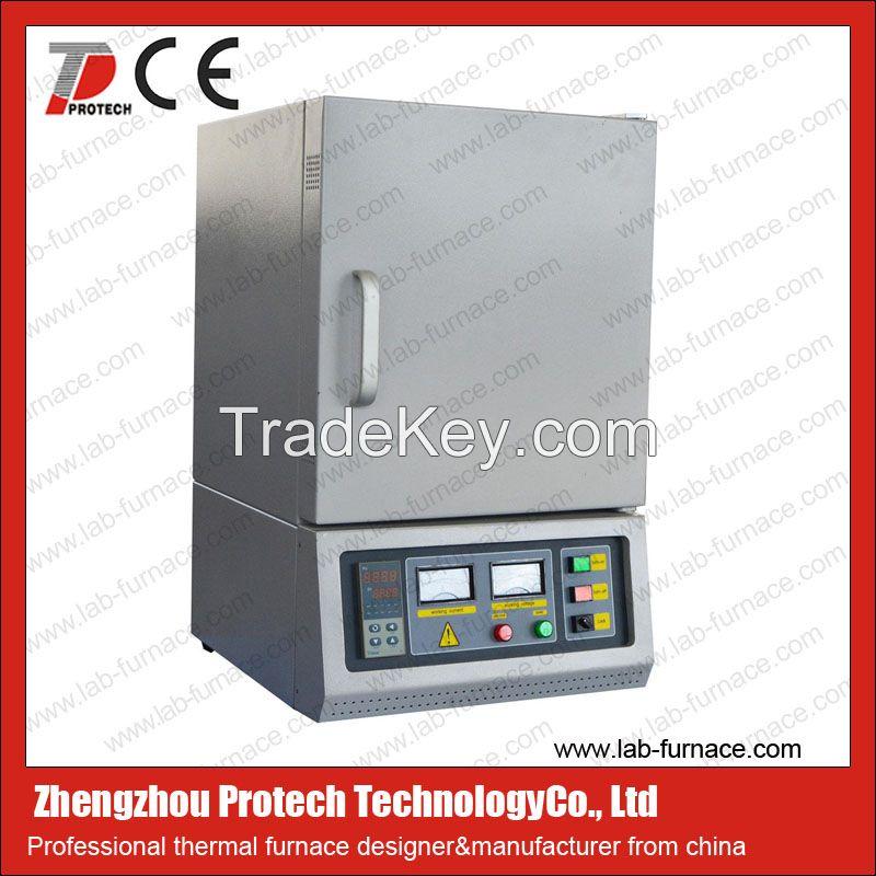 High temperature 1200 degree muffle furnace