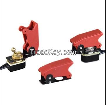 TA-01A-G**  toggle switches with protector shield available