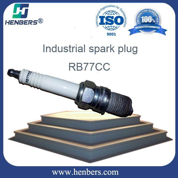 champion generator spark plug size