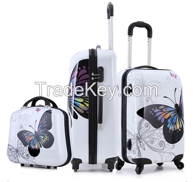 2015 most fashionable new products full sizes ABS PC luggage