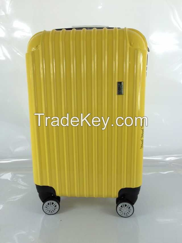 Popular leisure 20/24/28 inches waterproof travel trolley luggage