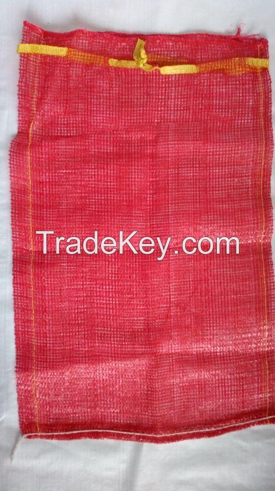raschel mesh bags for packing fruit onion potato firewood