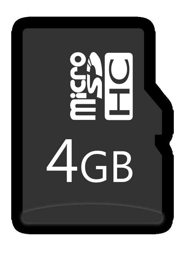 MircoSDHC card 4GB