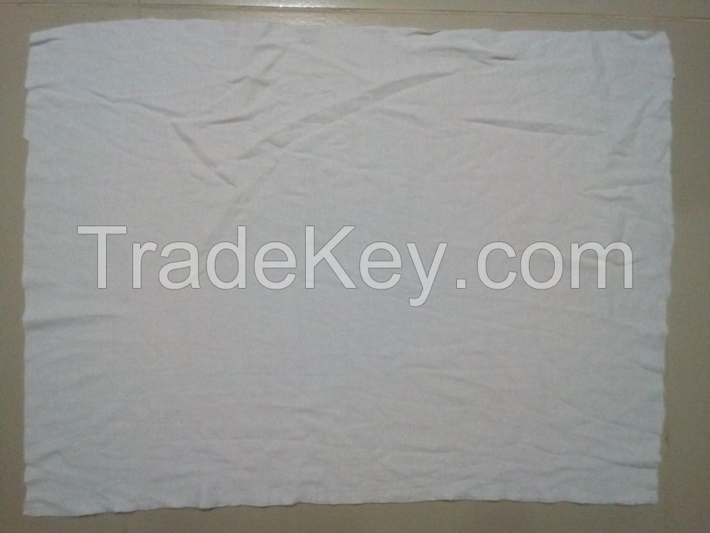 100% Cotton Non-stitched Wiping Rags