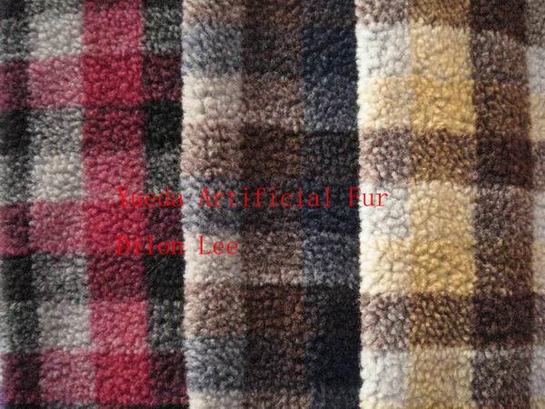 Jacquard Sherpa Fabric