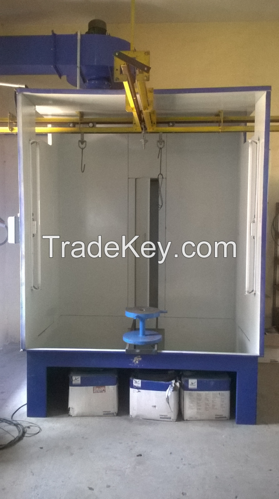 Powder coating booth,Curing oven and Recovery