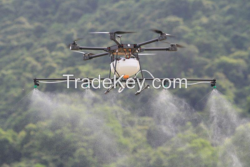 Made in China JMR-V1200 10kg rated load agricultural uav drone gps drone crop sprayer