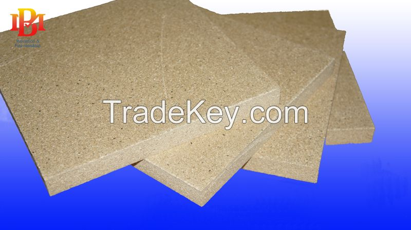 Vermiculite panel used for stoves insulation