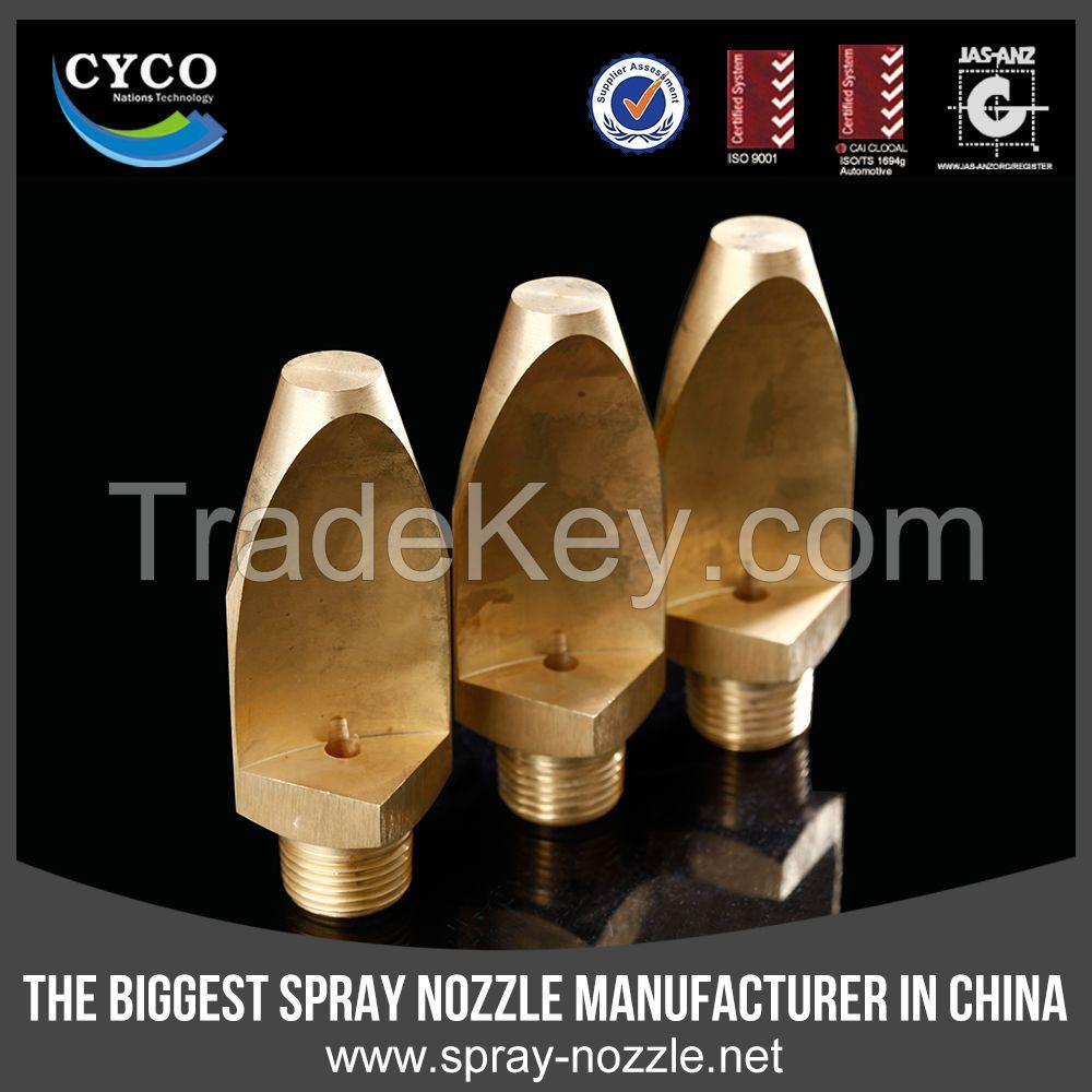 CYCO Narrow Angle Flat Fan Nozzle, Veejet Metal High Impact Fan Nozzle