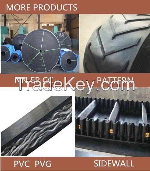 Multi-Ply Fabric(EP/CC/NN) Flat Rubber Conveyor Belt