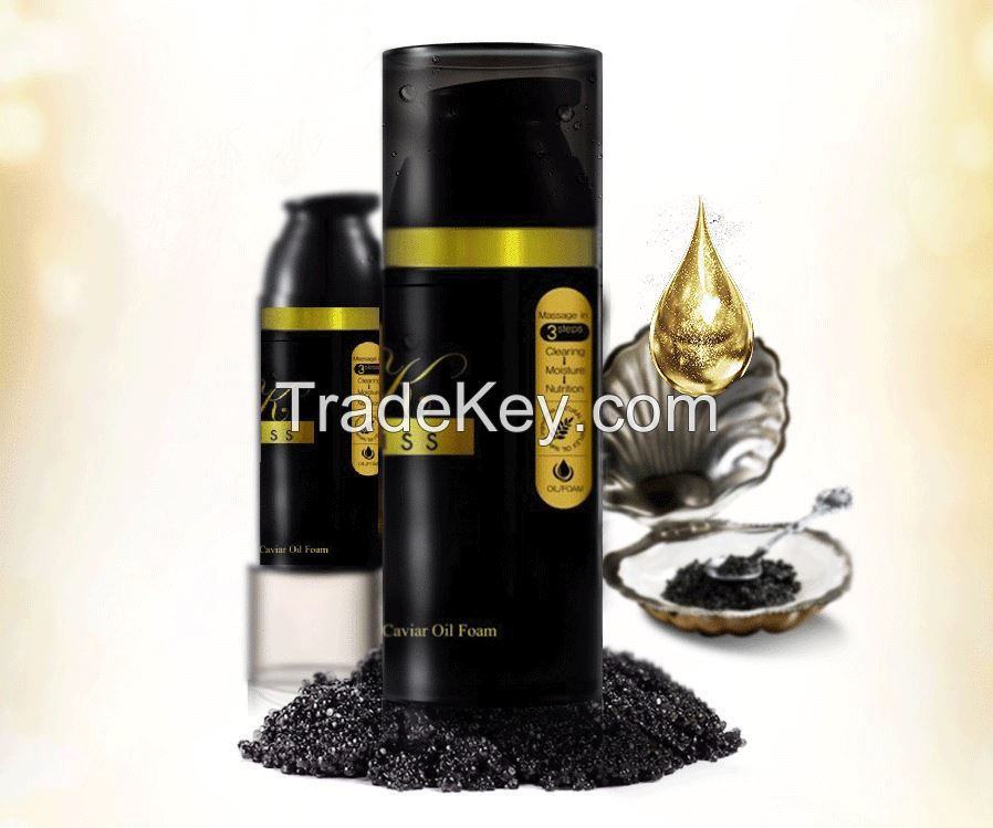 Kriss Miracle GOLD CAVIAR OIL FOAM CLEANSER
