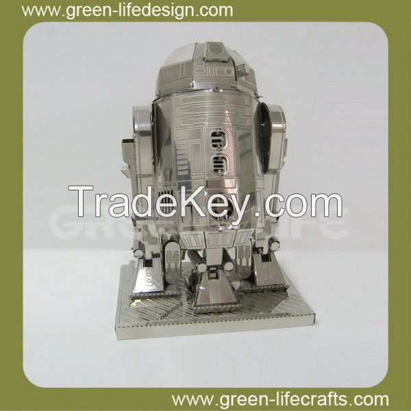 3D star wars educational toys metal puzzles
