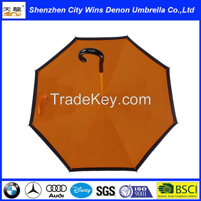 high quality windproof reverse umbrella