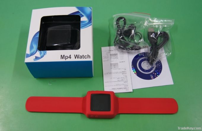 2012 new hot selling 8GB card GIFT christmas mp3/mp4 watch
