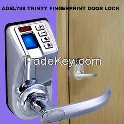 Adel788 Trinty Fingerprint Password Door Lock