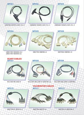cables,wires,connectors,plugs