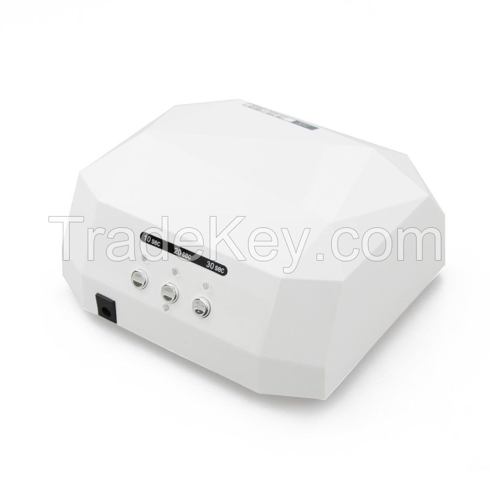 Lady Victory Diamand shape 36W CCFL+ LED UV Lamp Nail Dryer LN-007