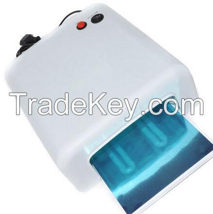 Lady Victory 36W UV Lamp UV Gel Nail Curing Lamp Light Dryer, 818 UV Nail Dryer LN-010