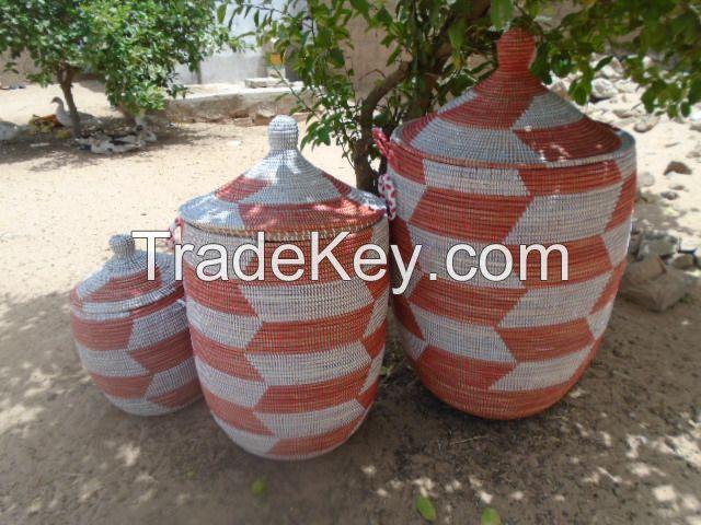 Senegalese Decorative Storage Baskets