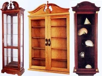 wooden curio
