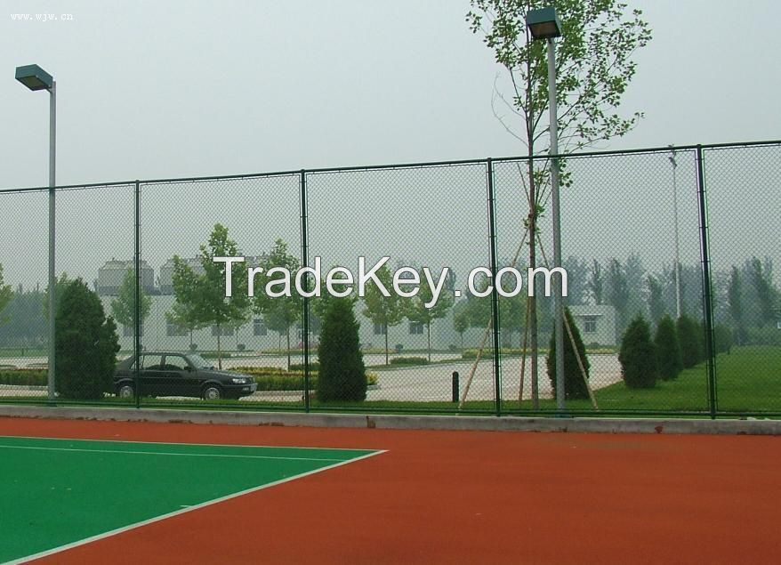 Wholesale chain link fence prices, used chain link fence for sale factory