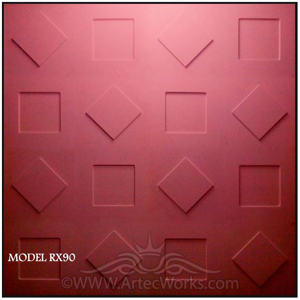 3d wall panel RX90 from Artec