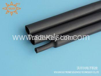 Black Flame Retardant Adhesive Heat Shrink Tubing