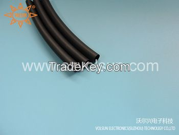 Black DR 25 Diesel Resistant Heat Shrink Tubing
