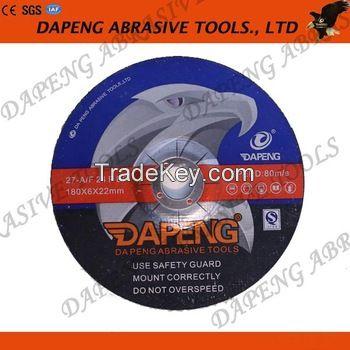 T27 4 to 9 sizes Resin Bond abrasive grinding wheel for metal/steel/stainless steel