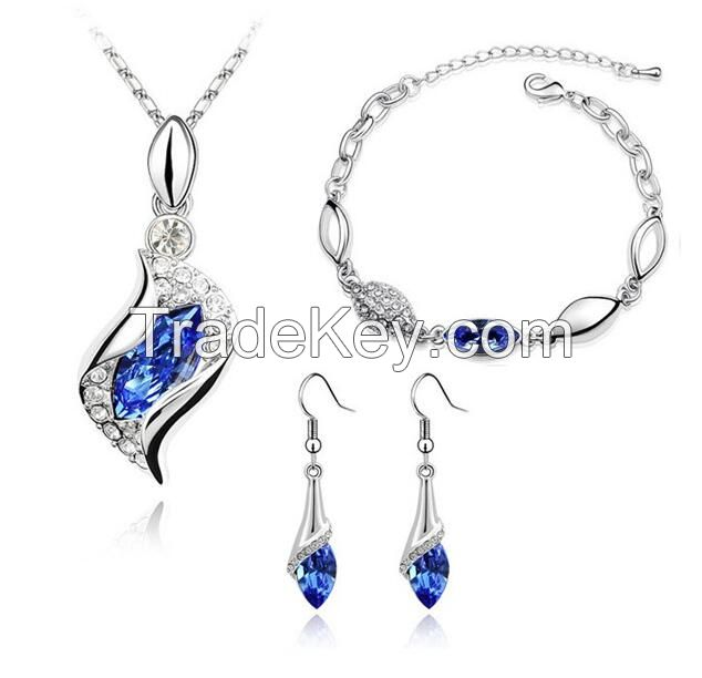 Fashion Crystal Jewelry Set 2015