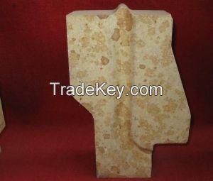 Refractory silica bricks