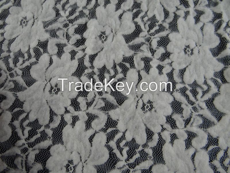 Beautiful lace fabric for lace dress hot salling