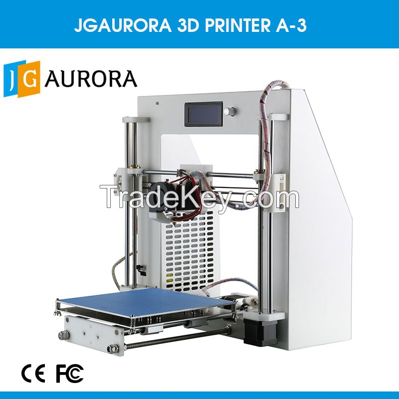 Over 10 Materials for Updated JGAURORA Metal Frame New Genaration A-3 3d Printer Rapid Printing Impresora 3d
