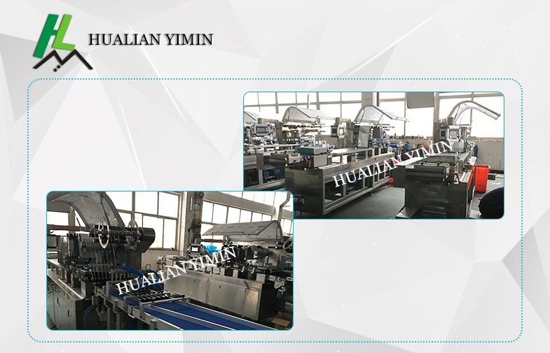 Automatic Blister Packing Machine for candy, capsules, tablets etc.