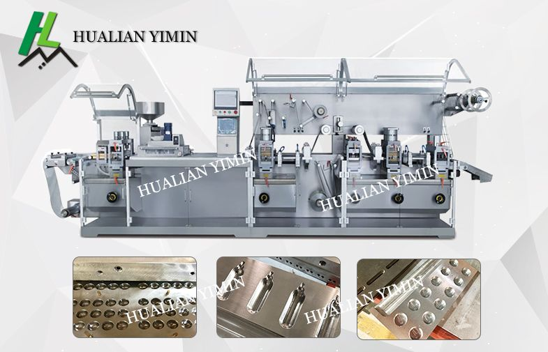 Blister Packing Machine for Pharmaceutical, capsules, tablets, for chemical , pharmacy tablets